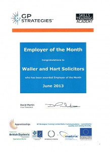 GP Strategies - Employer of the Month 2013
